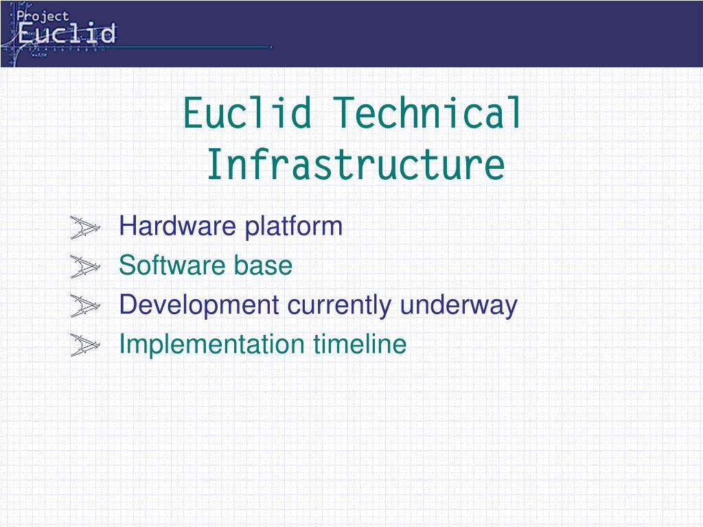 Euclid Technical