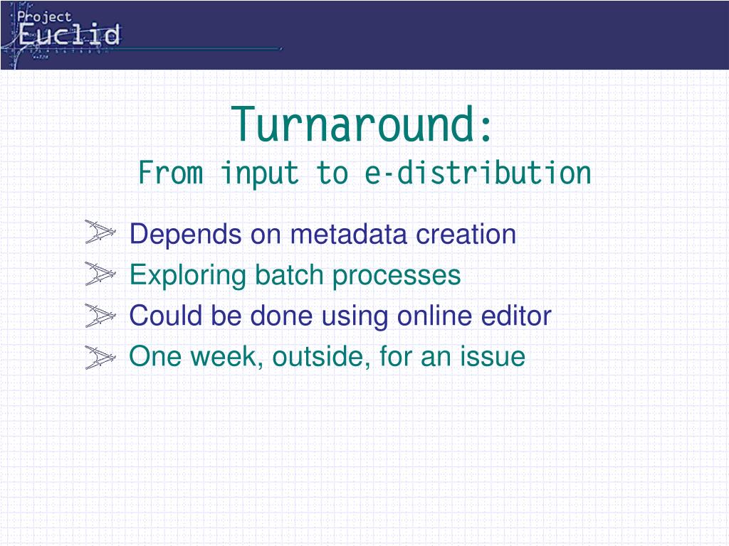 Turnaround: