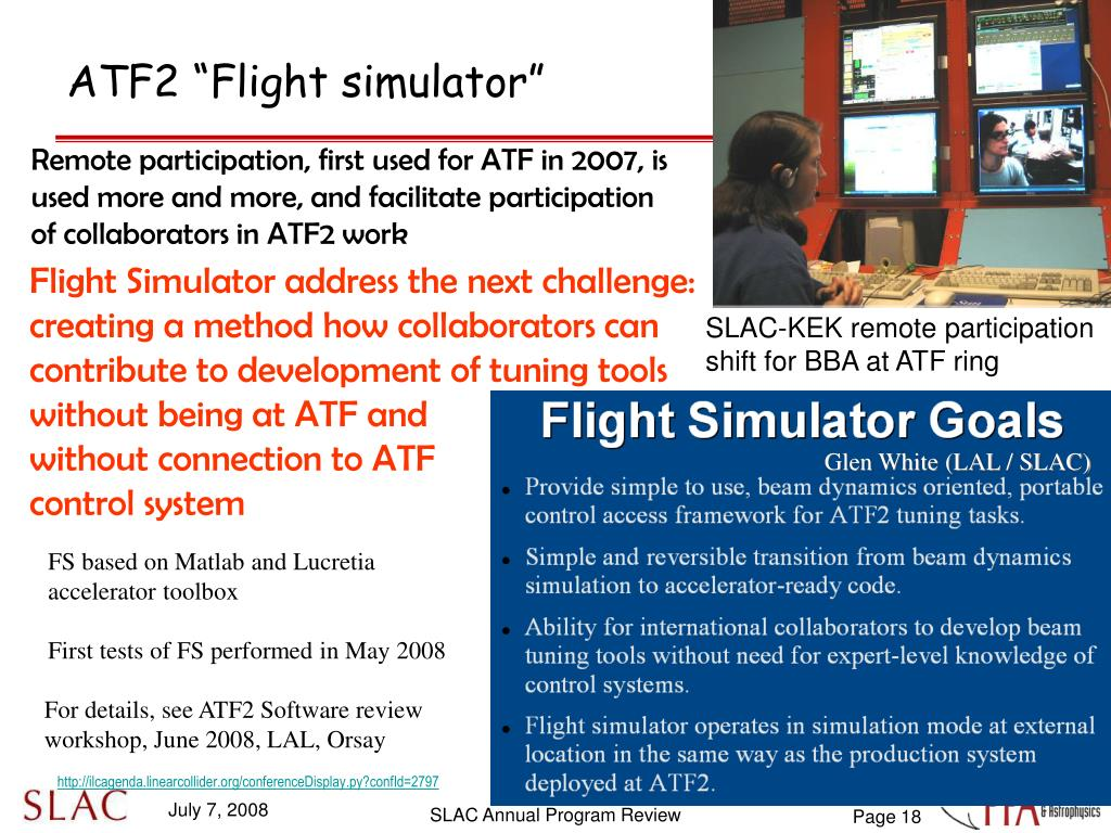 "ATF2 ""Flight simulator"""