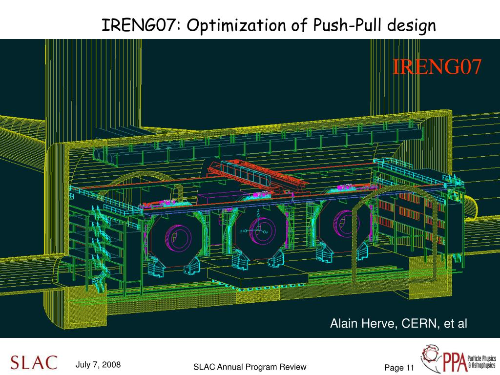 IRENG07: Optimization of Push-Pull design
