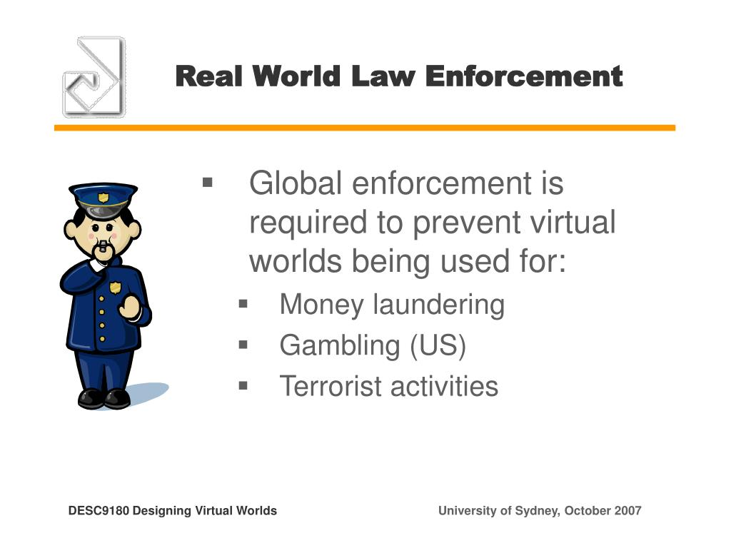 Real World Law Enforcement