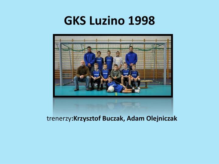 GKS Luzino 1998