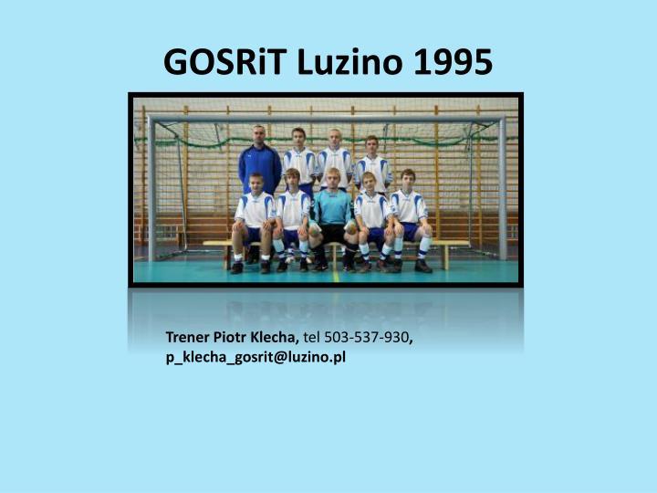 GOSRiT Luzino 1995