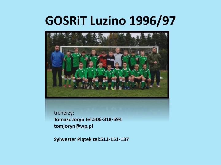 GOSRiT Luzino 1996/97
