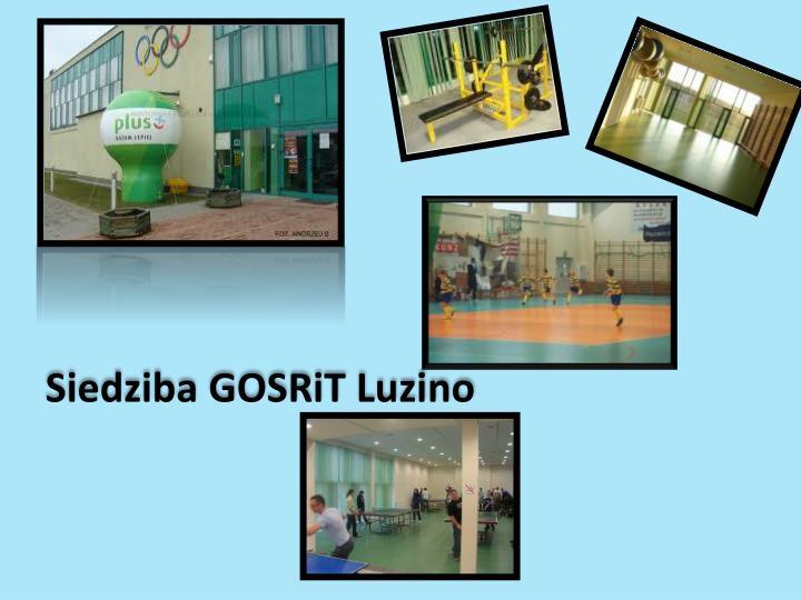 Siedziba GOSRiT Luzino