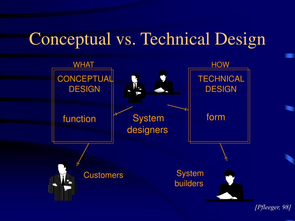 Conceptual vs. Technical Design