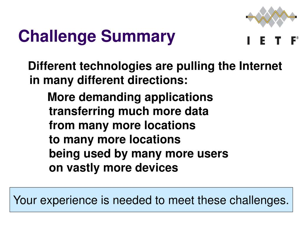 Challenge Summary