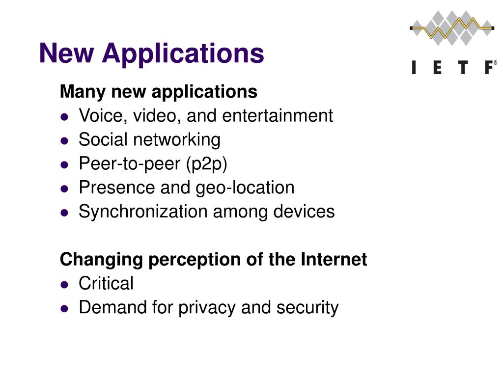 New Applications