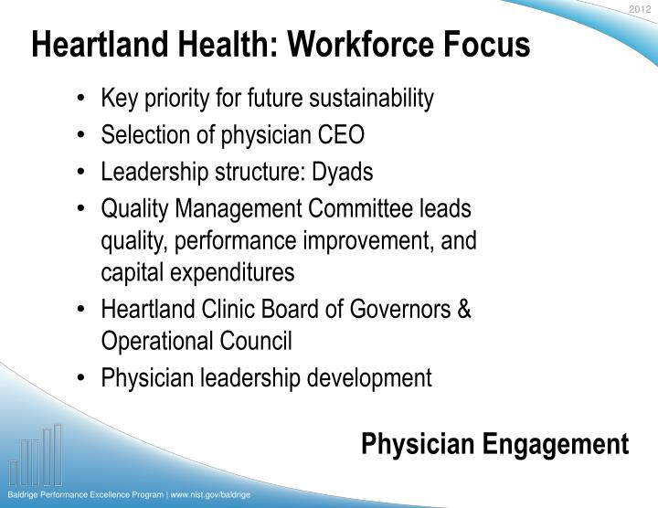 Heartland Health: Workforce Focus