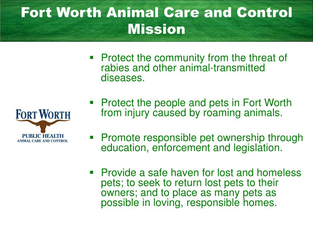 Fort Worth Animal Care and Control