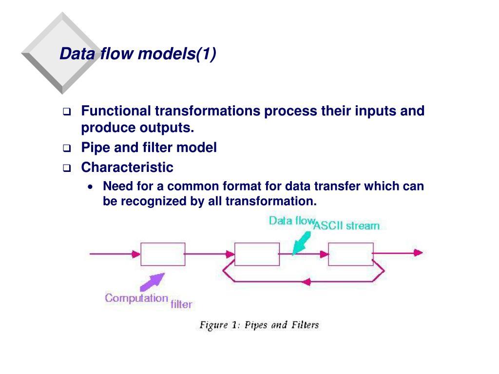 Data flow models(1)