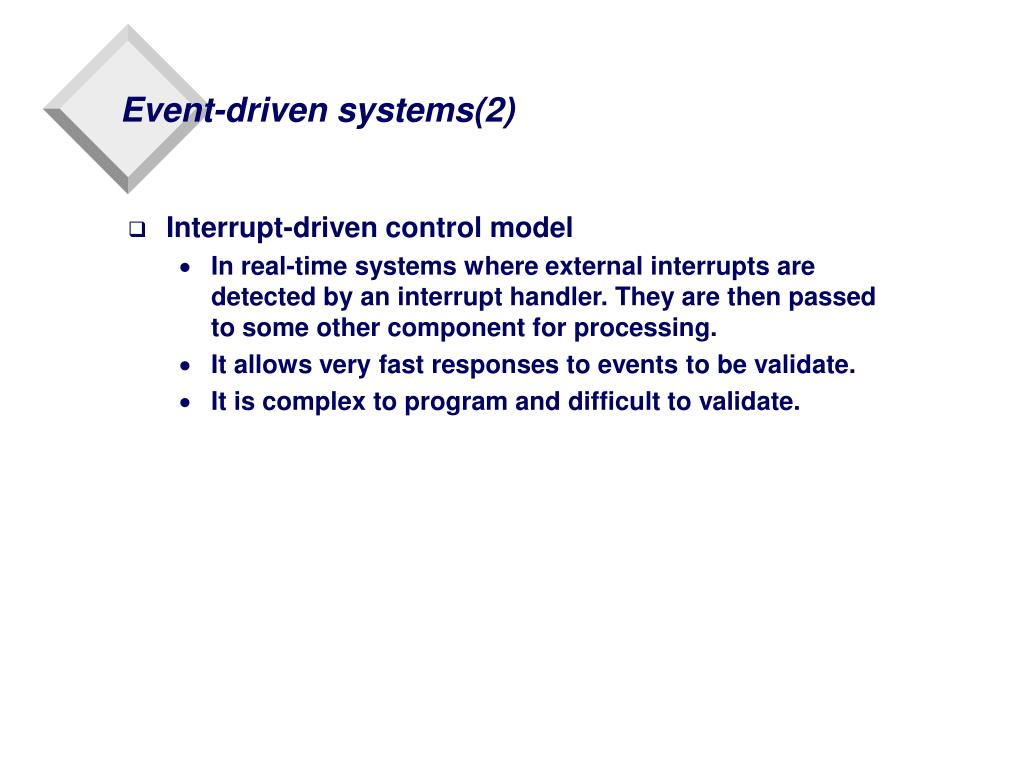Event-driven systems(2)