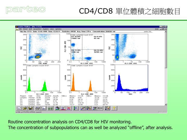 CD4/CD8