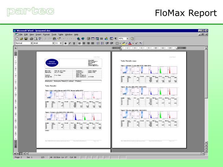 FloMax Report