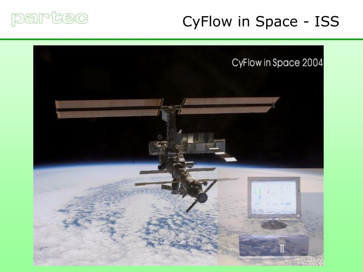CyFlow in Space - ISS