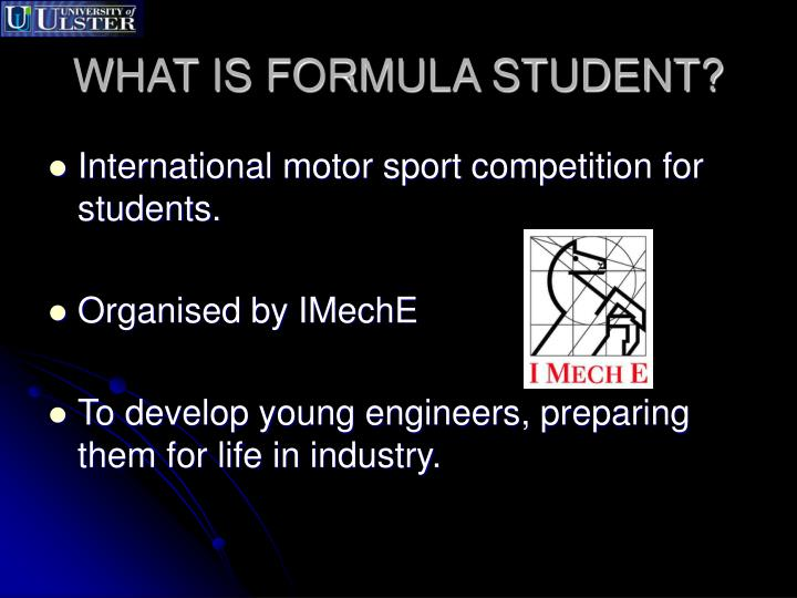 What is formula student