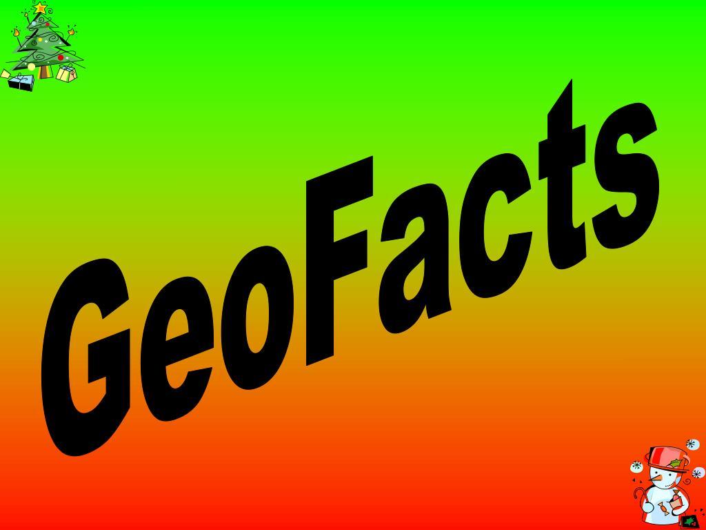 GeoFacts