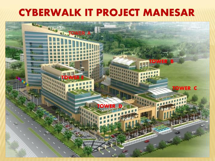 CYBERWALK IT PROJECT MANESAR