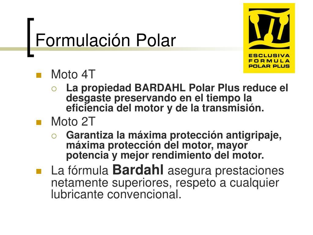 Formulación Polar