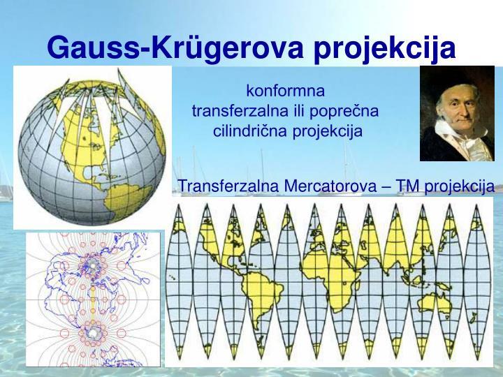 Gauss-Krügerova projekcija
