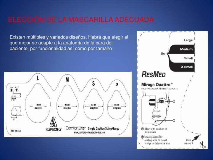 ELECCIÓN DE LA MASCARILLA ADECUADA
