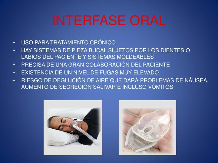 INTERFASE ORAL