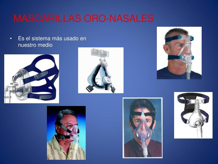MASCARILLAS ORO-NASALES