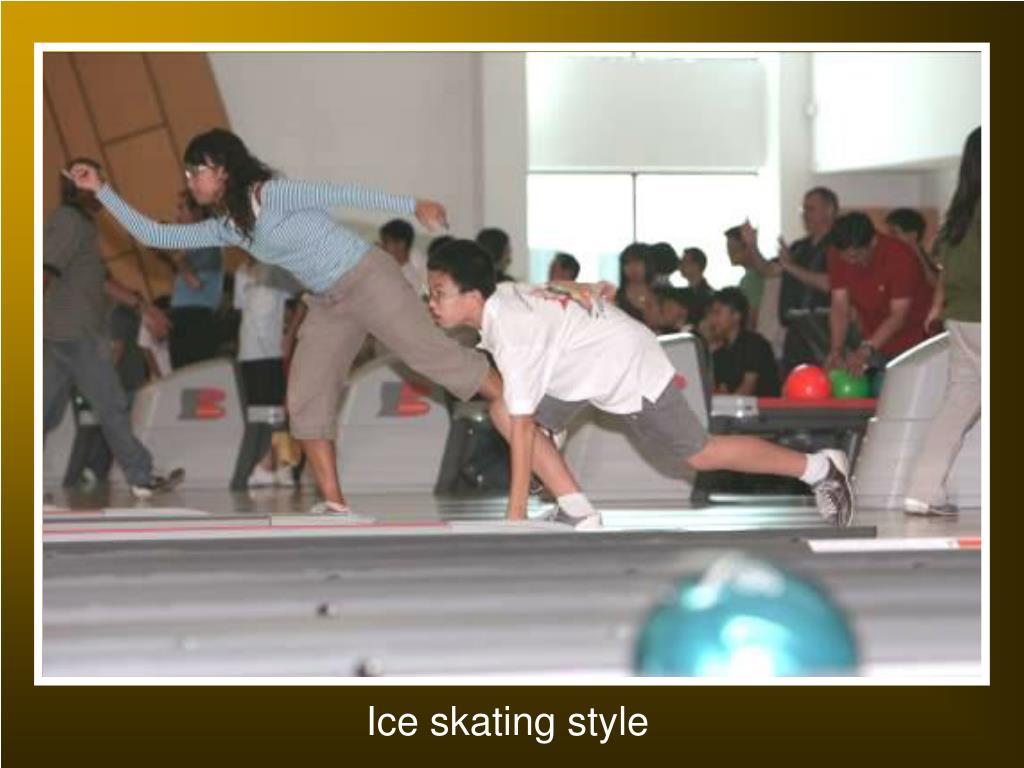 Ice skating style