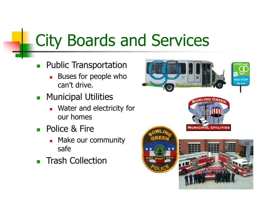 City Boards and Services