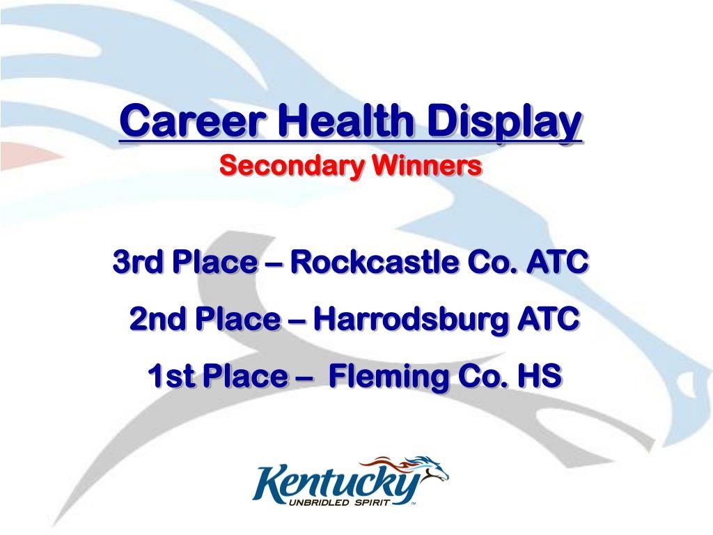 Career Health Display