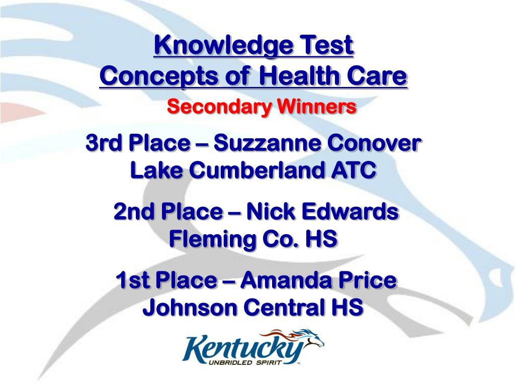Knowledge Test