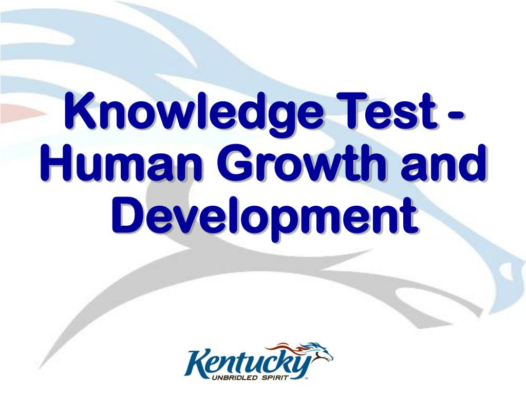 Knowledge Test -