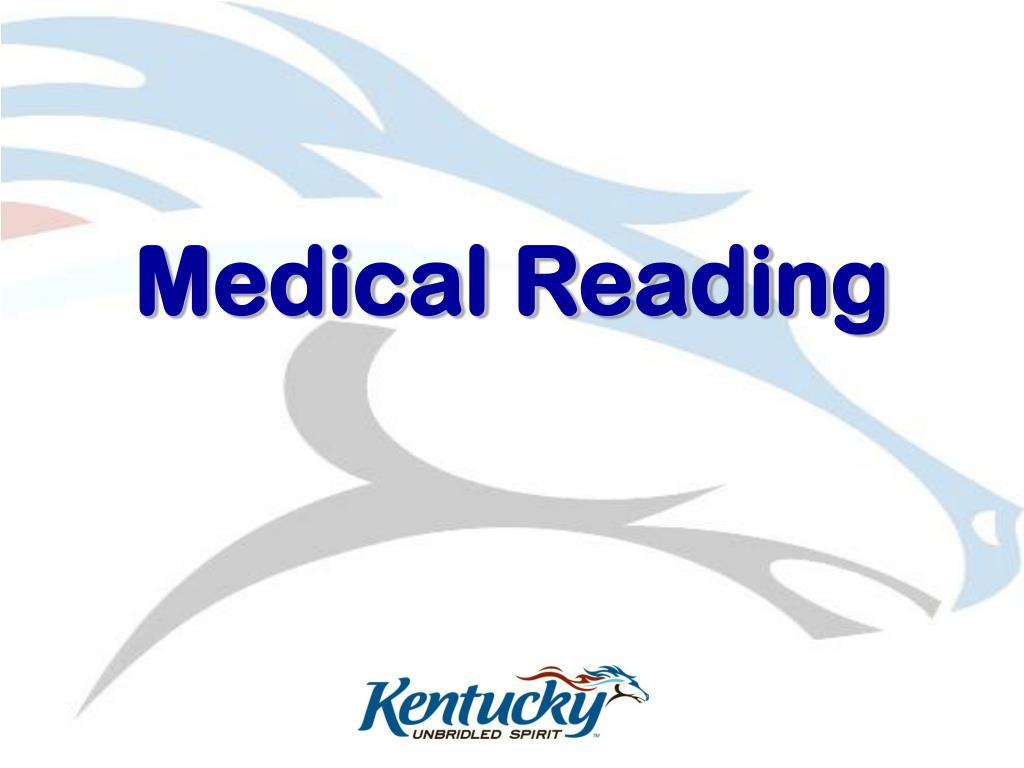 Medical Reading