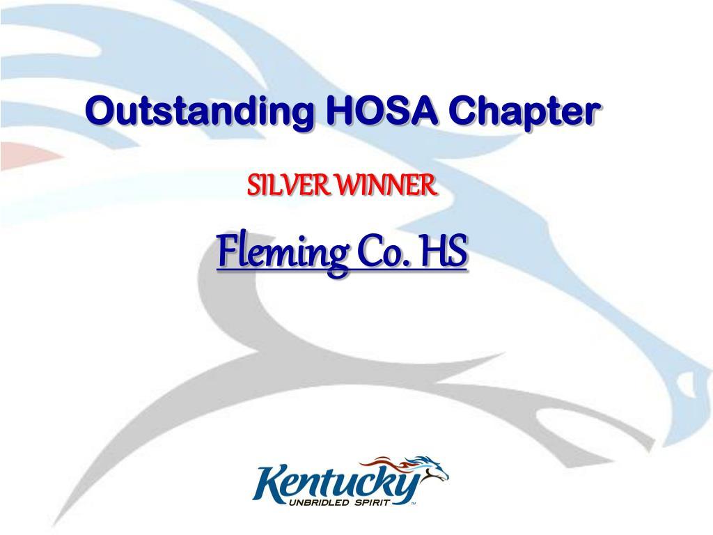 Outstanding HOSA Chapter