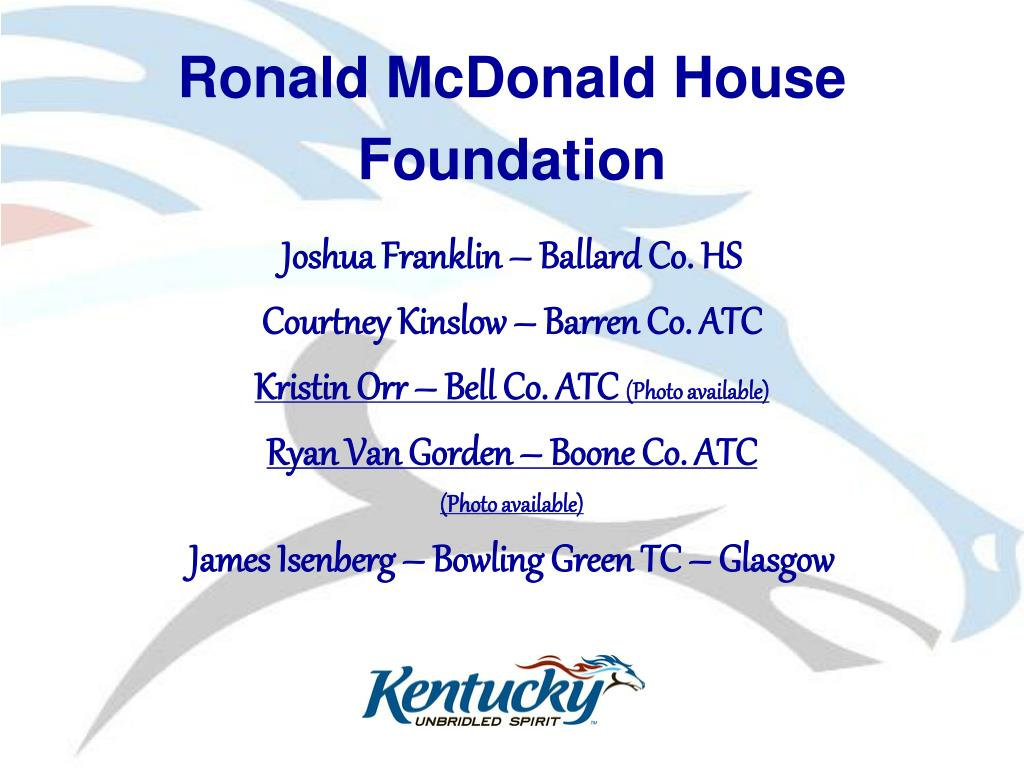 Ronald McDonald House Foundation
