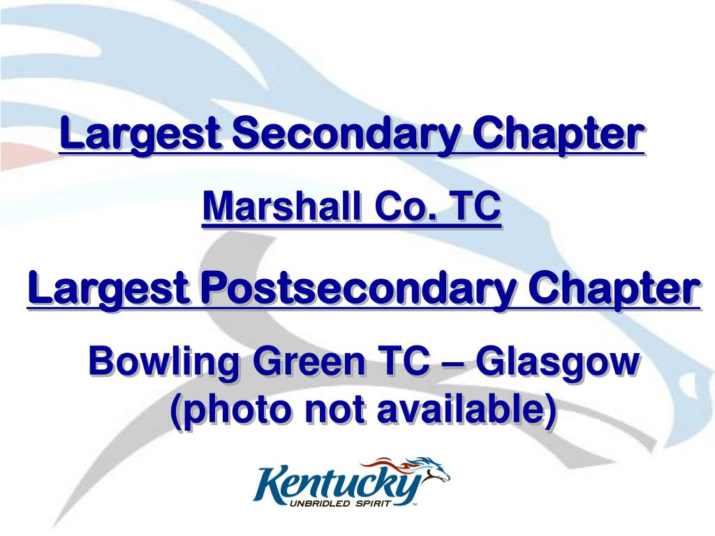 Largest Secondary Chapter