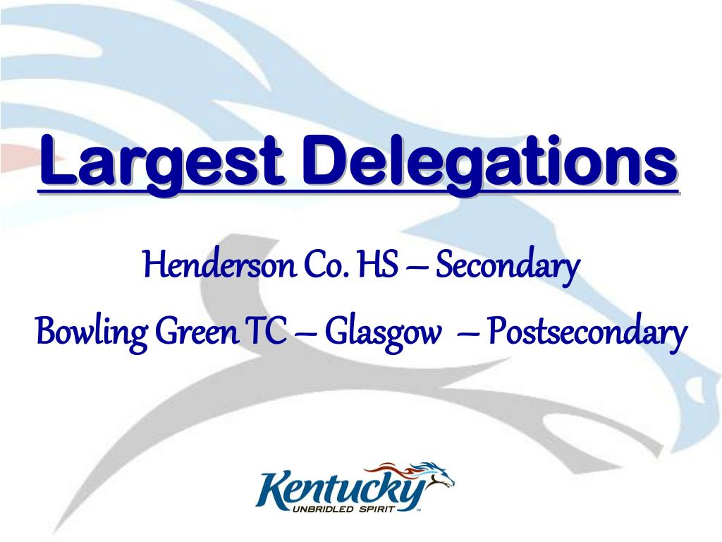 Largest Delegations