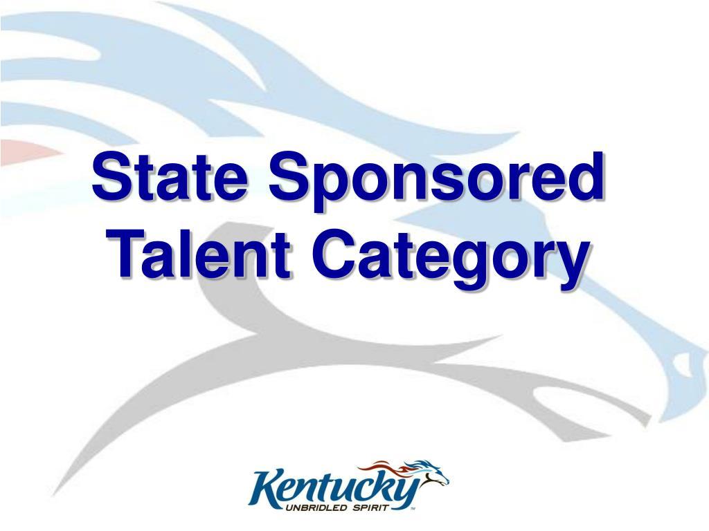State Sponsored
