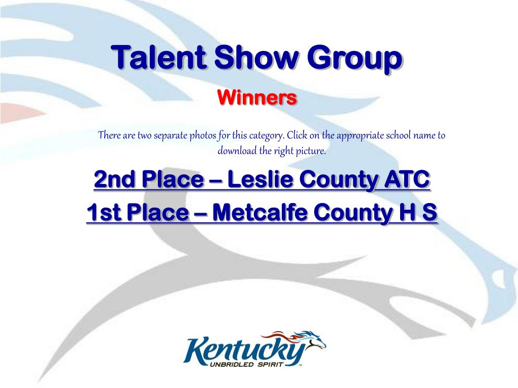 Talent Show Group