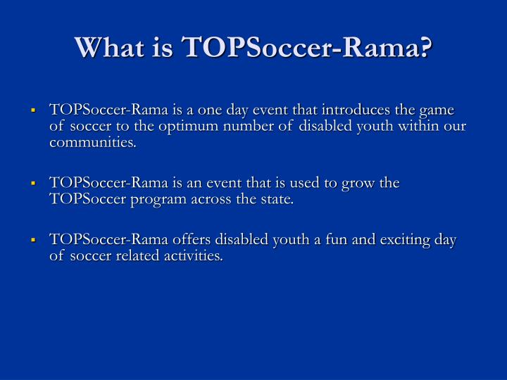What is topsoccer rama