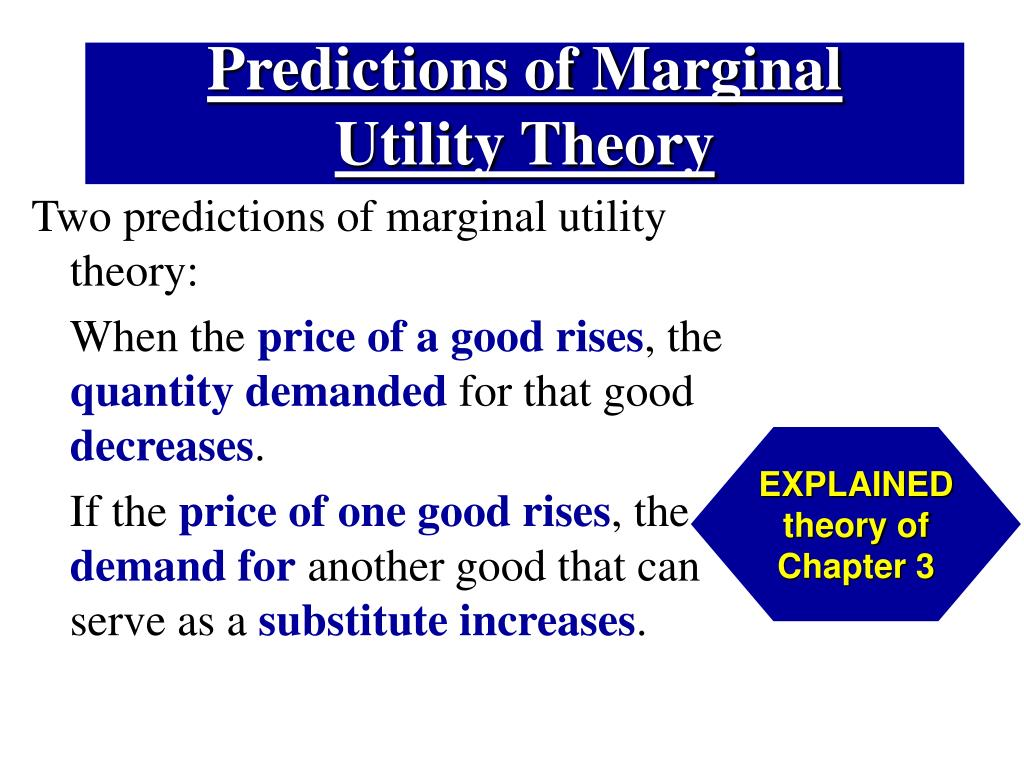 Predictions of Marginal