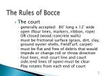 the rules of bocce14