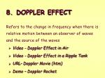8 doppler effect