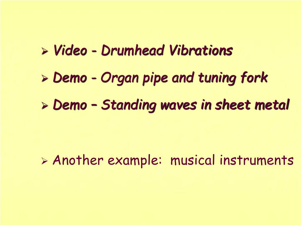 Video - Drumhead Vibrations
