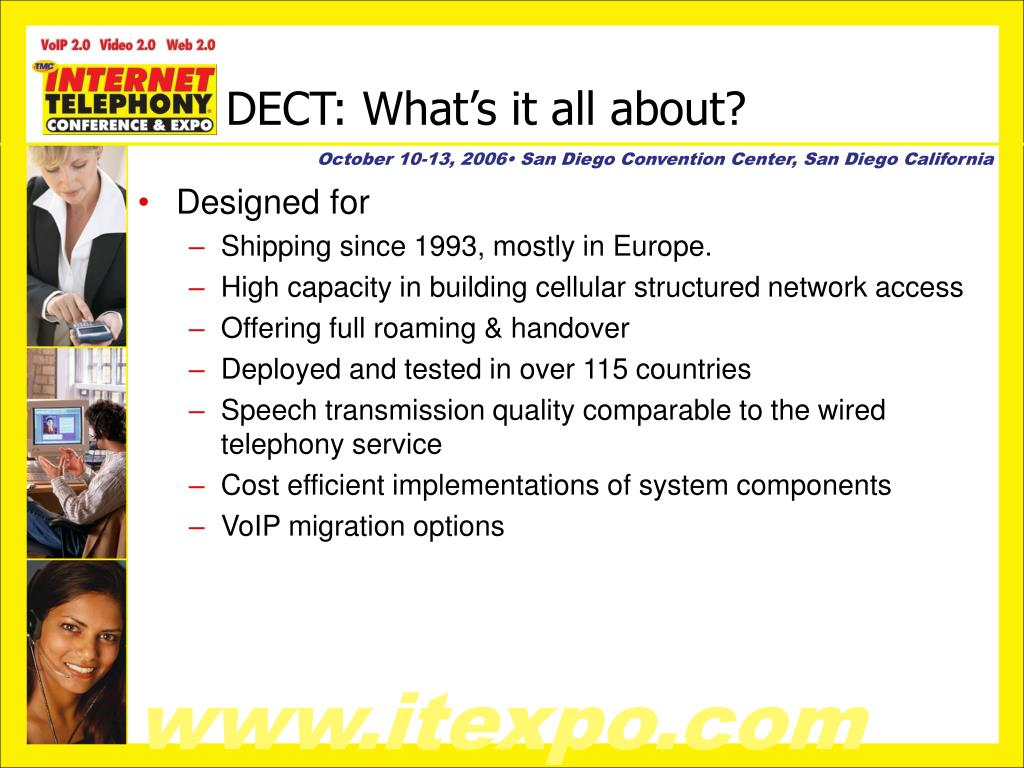 DECT: What's it all about?