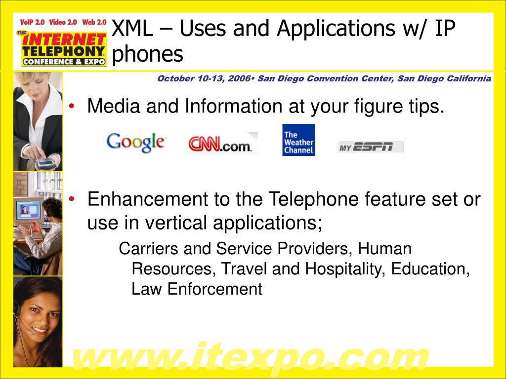 XML – Uses and Applications w/ IP phones