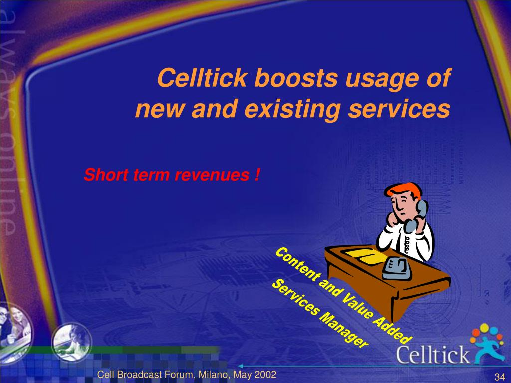 Celltick boosts usage of