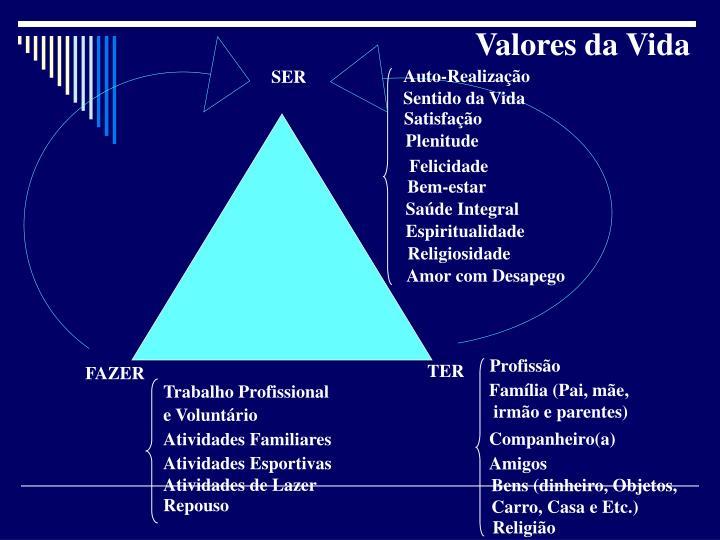 Valores da Vida