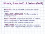 miranda presentaci n soriano 2002