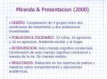 miranda presentacion 2000